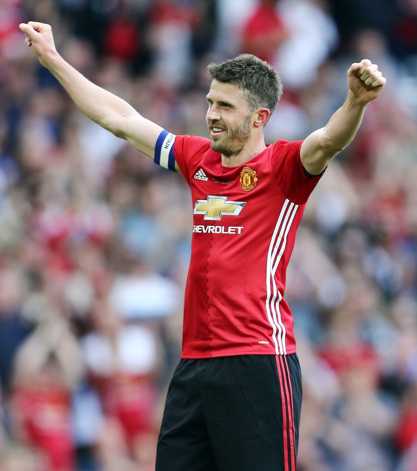 Carrick is favourite among Manchester United fans