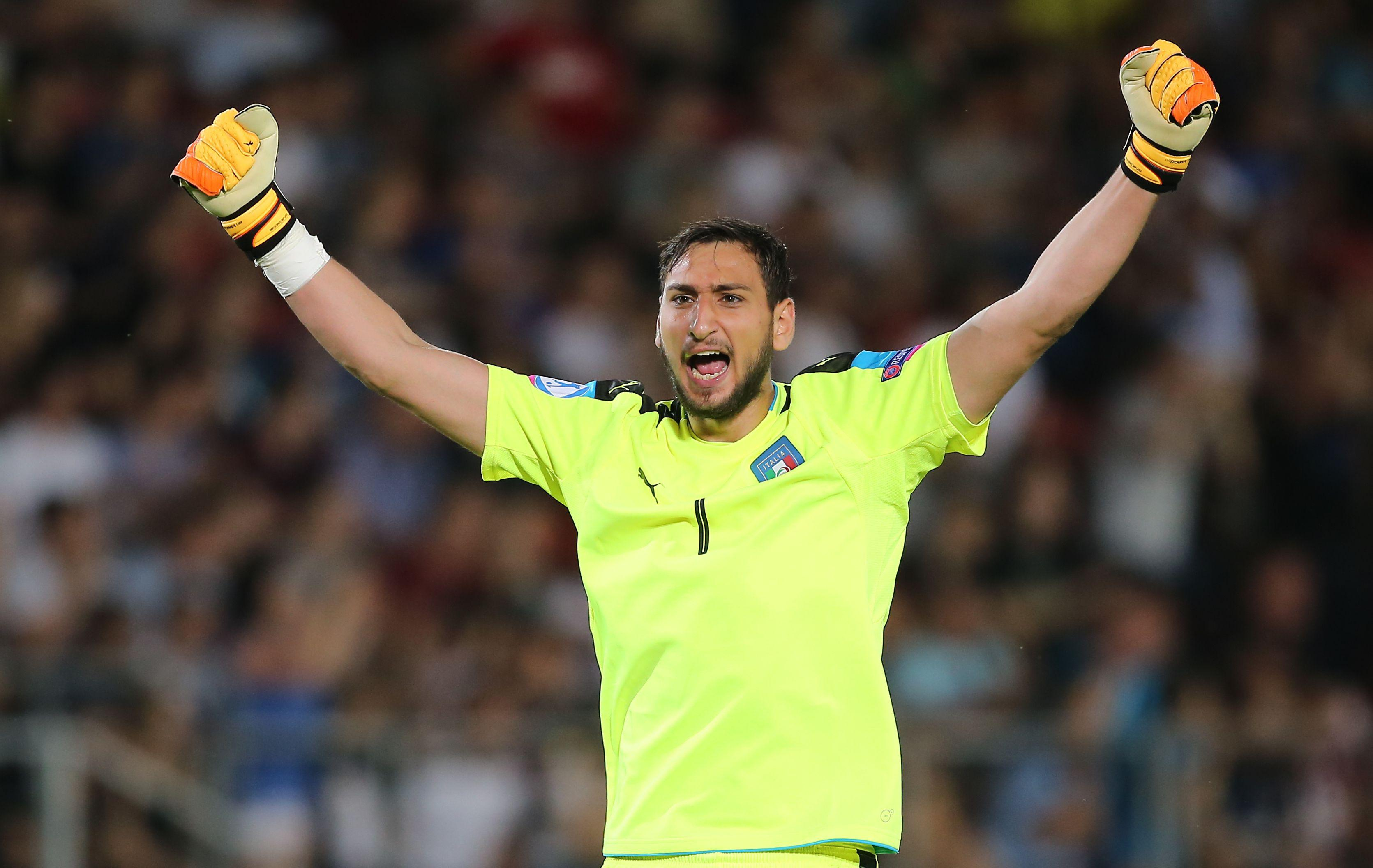 The youngster could become a fixture between the sticks for Italy for as long as Buffon