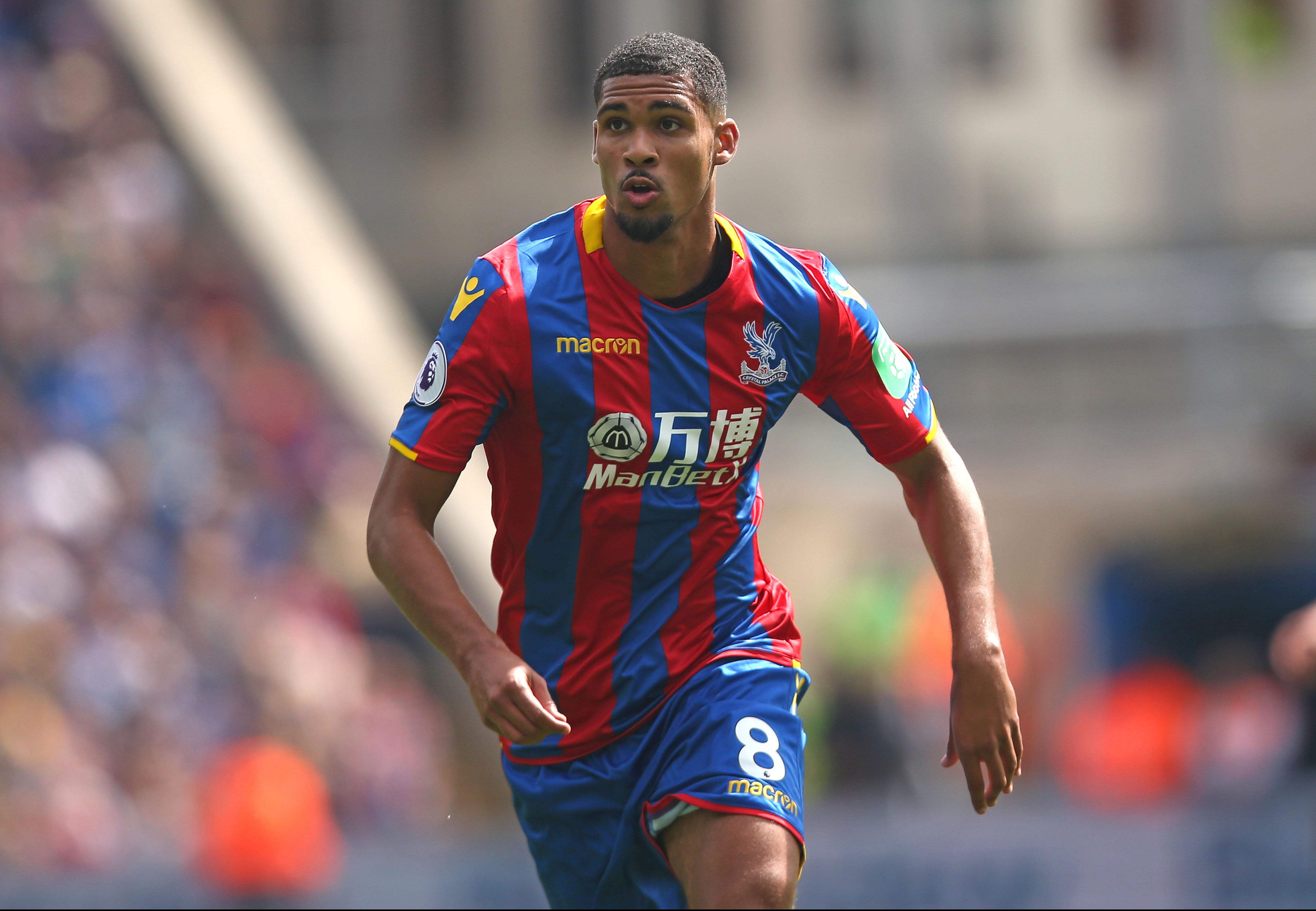 The midfielder has moved to Crystal Palace on loan this season