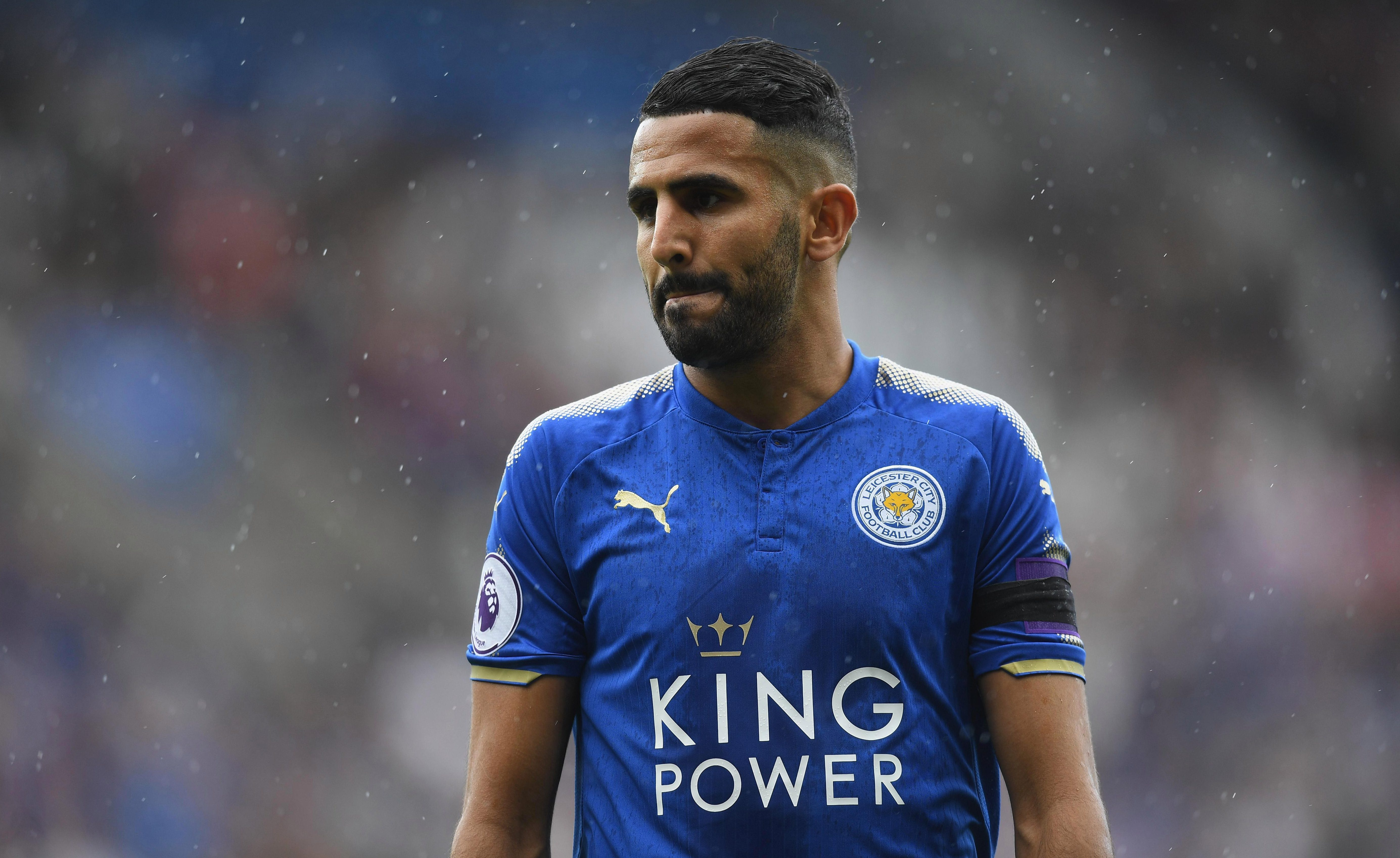 Despite the summer interest, Mahrez remains with Leicester