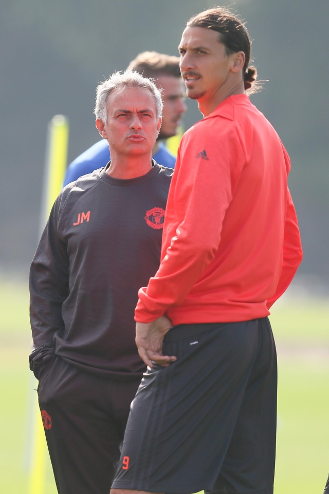 Mourinho believes Zlatan will be back before the end of the year