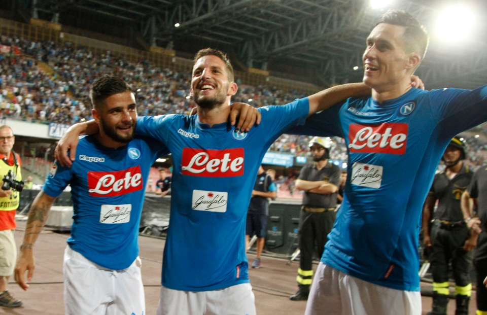 Insigne, Meretns and Callejon are lethal together