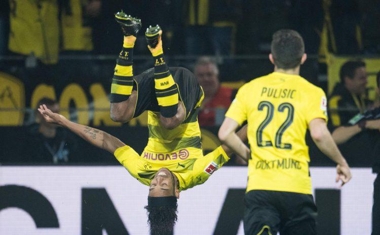 Aubameyang representing Dortmund's form