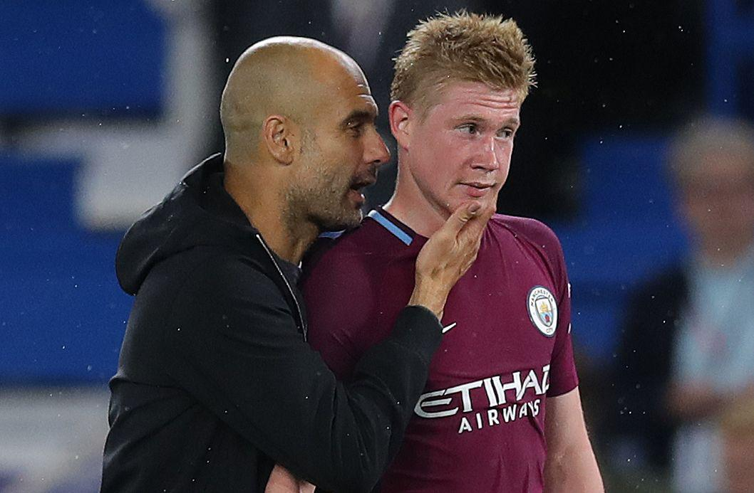 De Bruyne has been central to City's brilliance this season