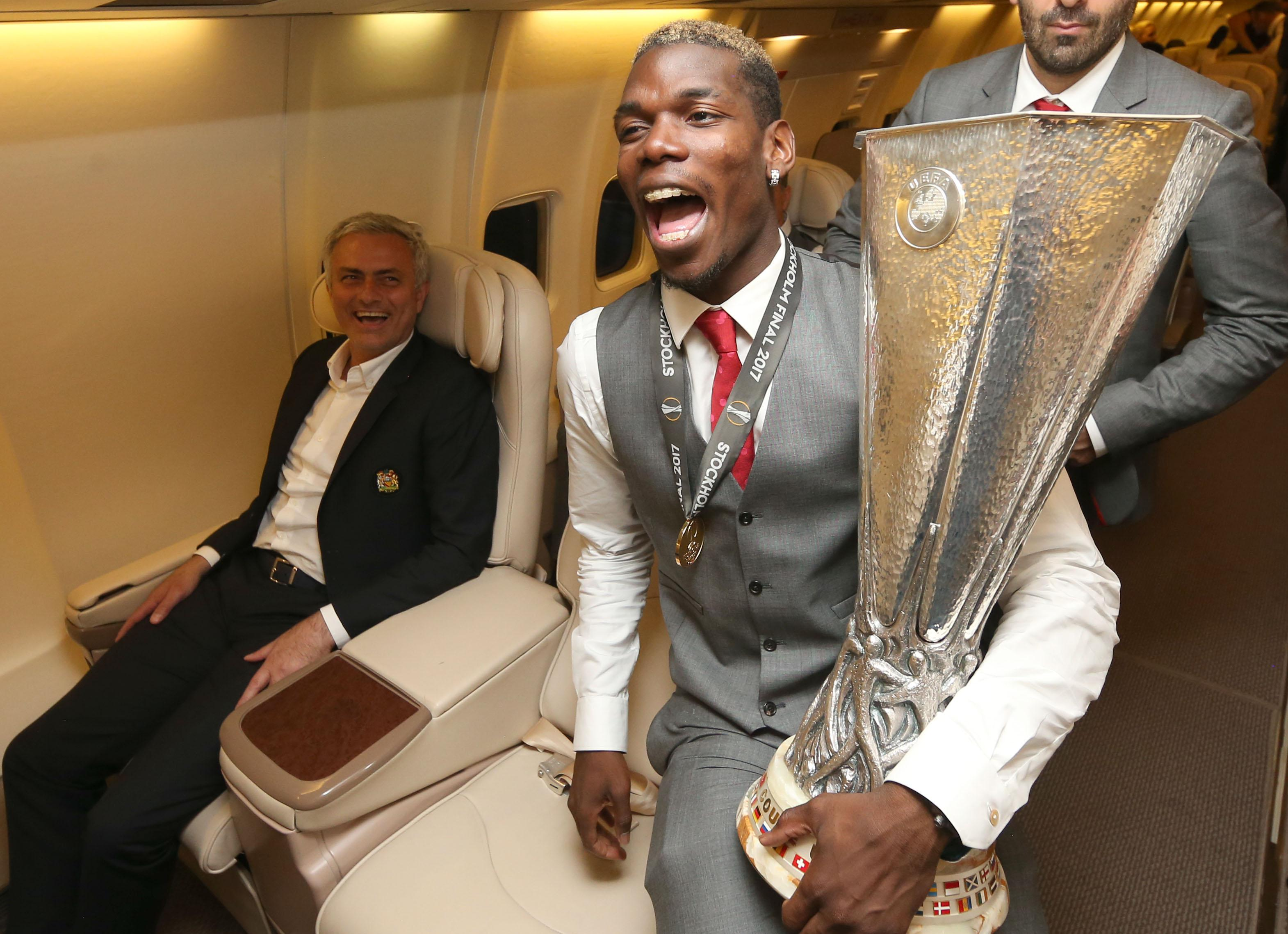 Most fans would have been happy with United's trophy haul last season