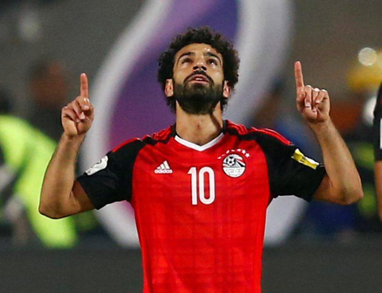 Salah celebrates that dramatic penalty winner
