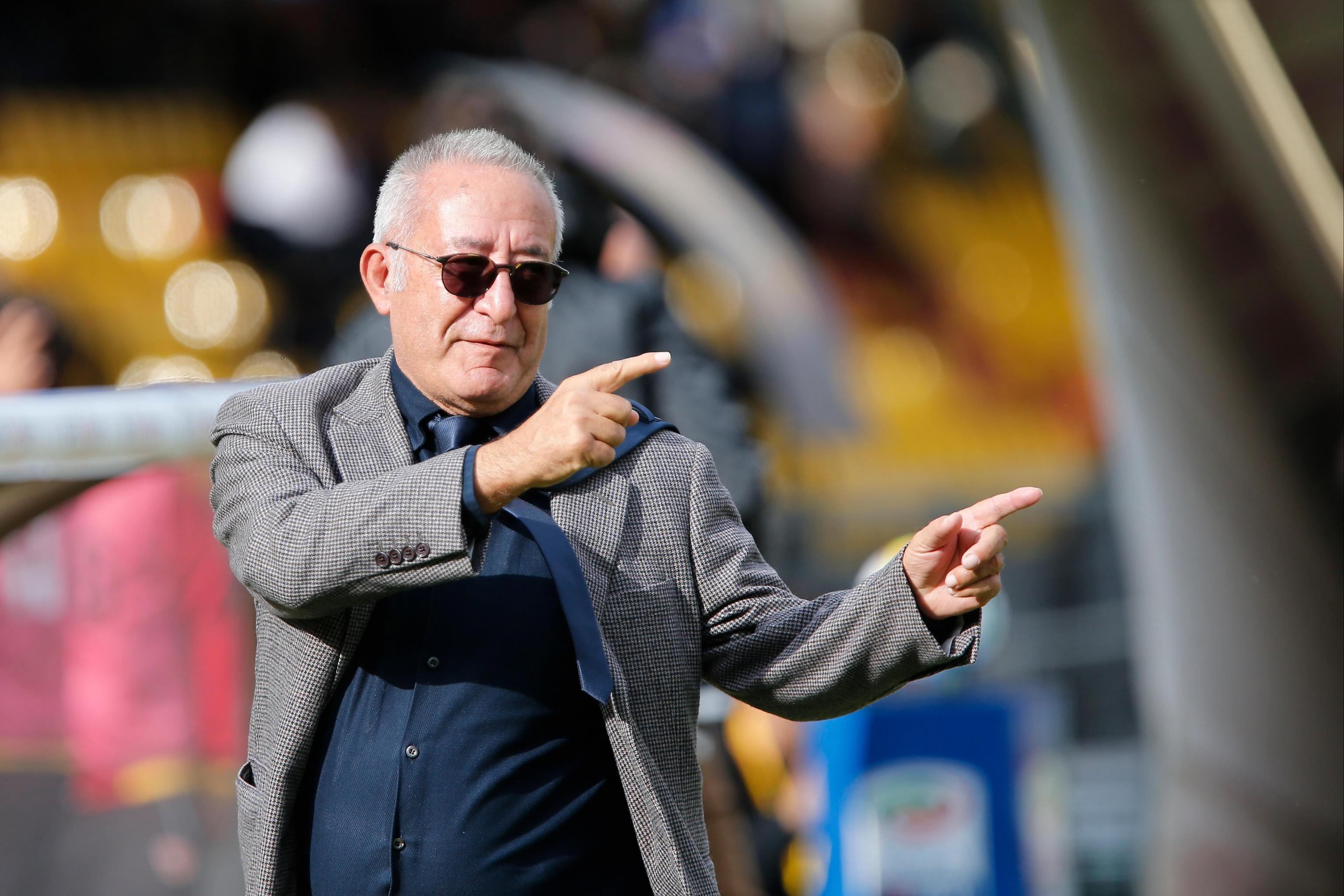 Benevento president Oreste Vigorito has got it sussed