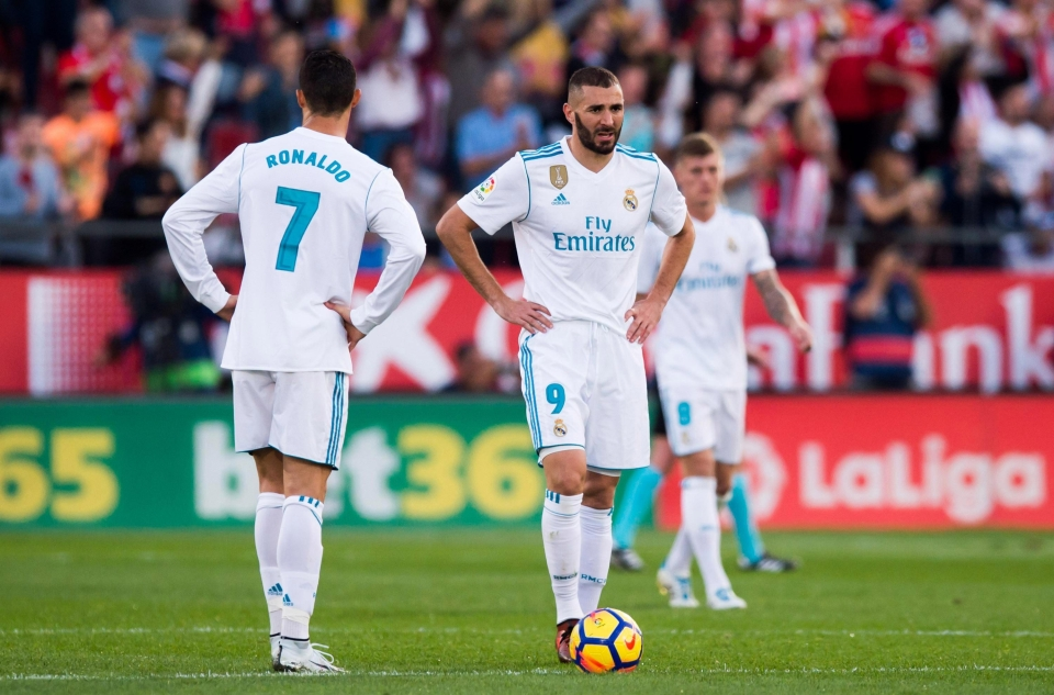 Benzema has struggled to hit the back of the net this season