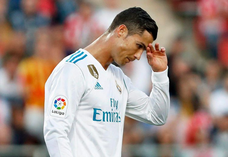 Ronaldo has endured one of the worst La Liga starts of his career