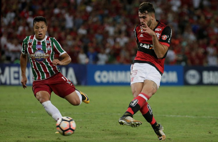 Flamengo's 20-year-old striker