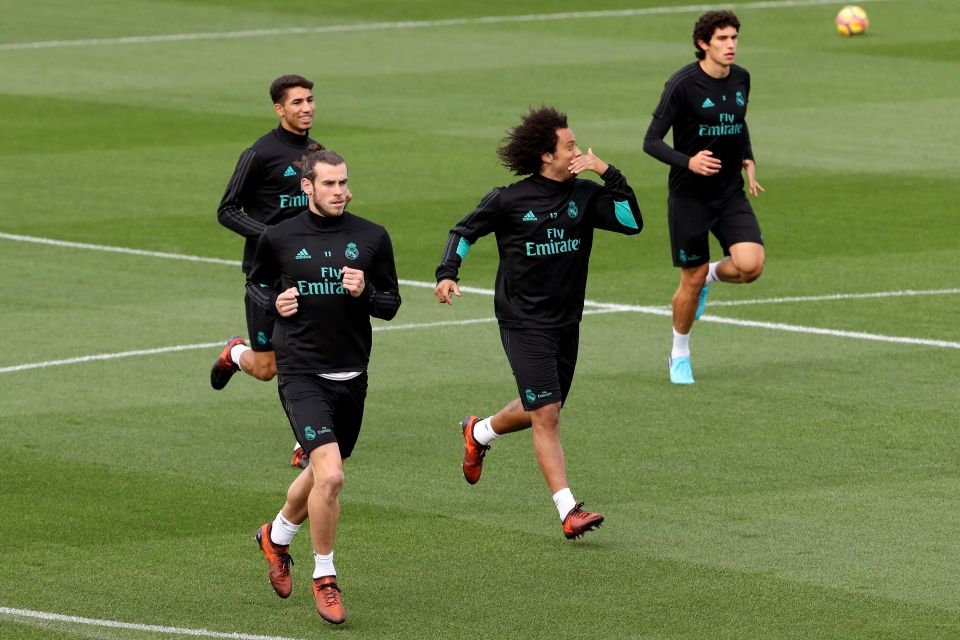 Madrid's Brazilian core have been supporting the youngster from afar
