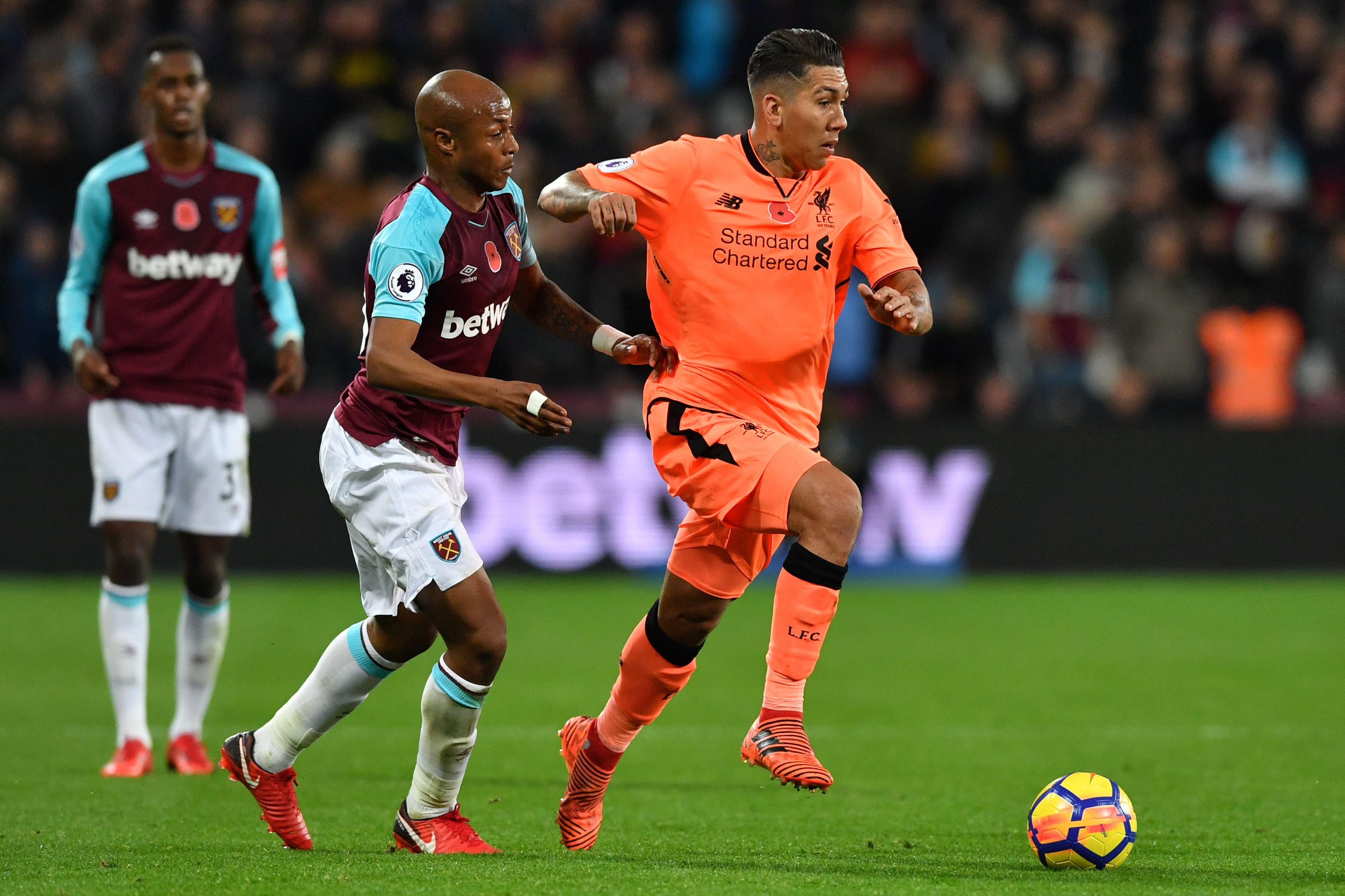 Firmino terrorised West Ham all evening