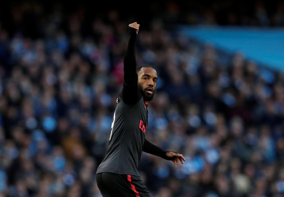 Lacazette within 10 minutes of coming on