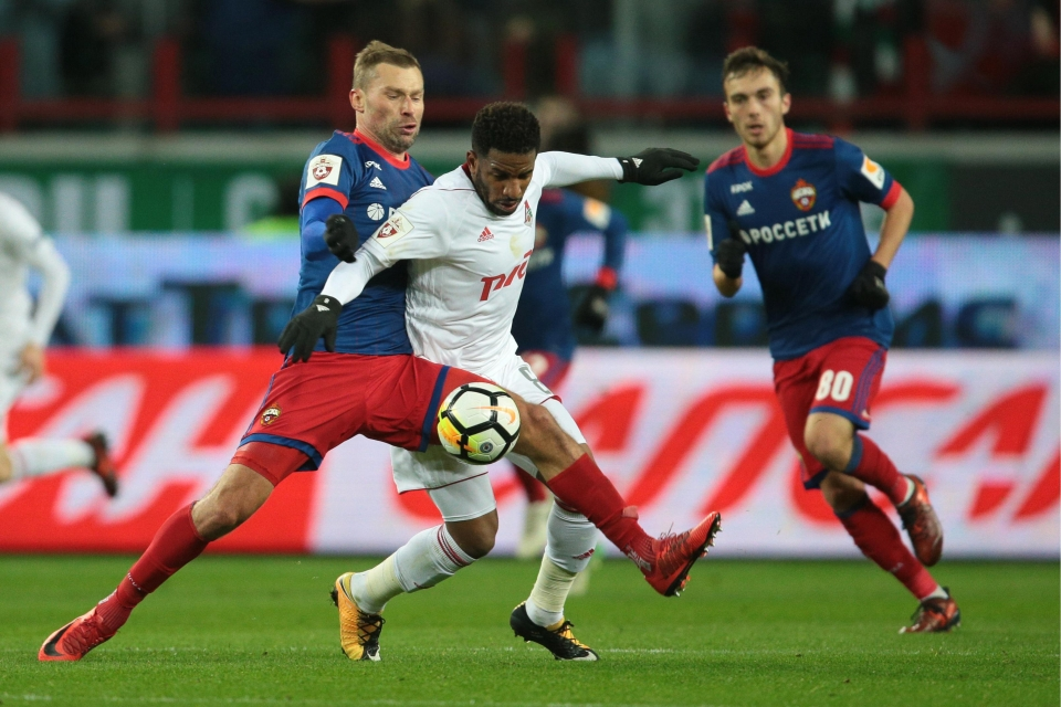 In action against CSKA
