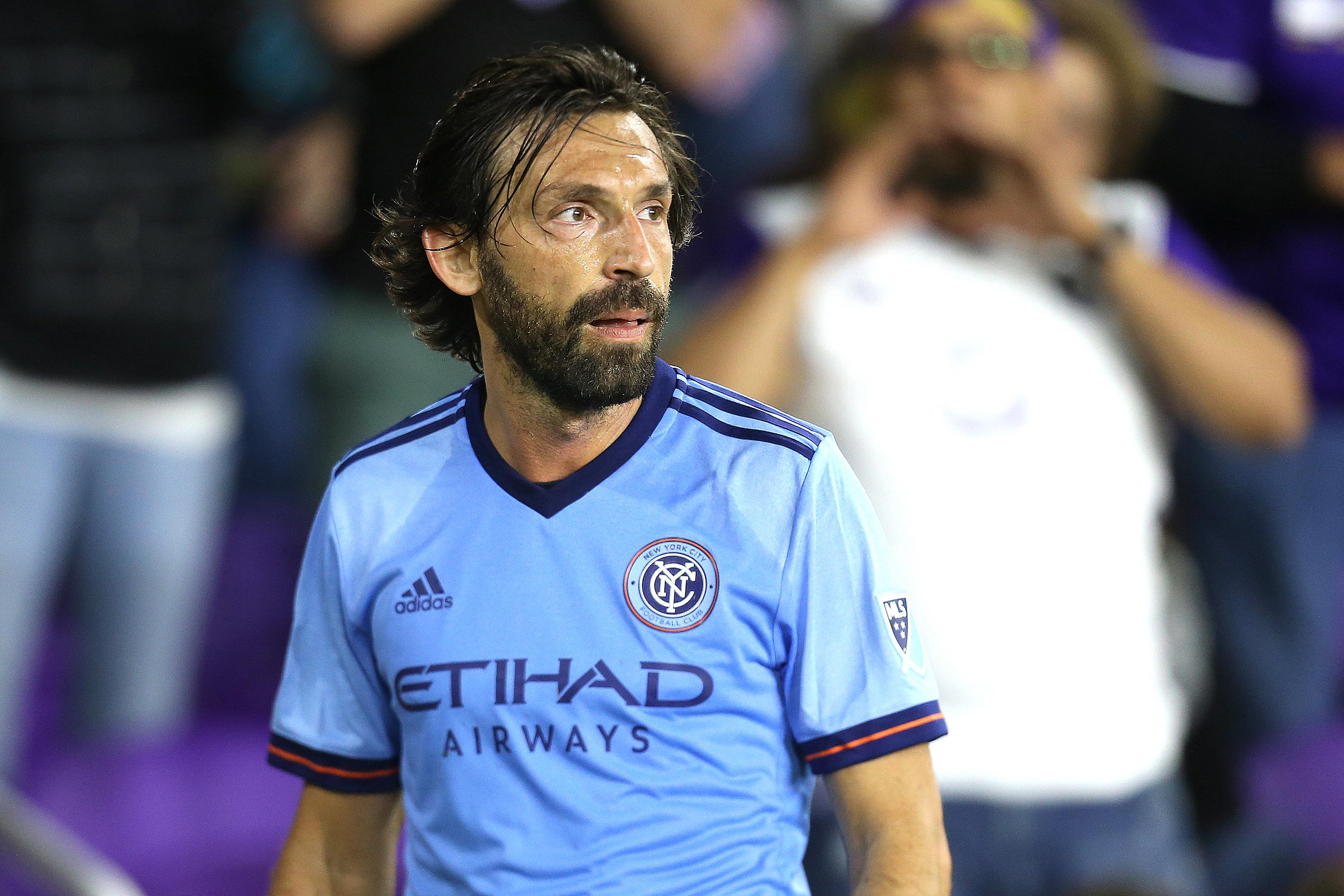 Pirlo made his final appearance for NYCFC at the weekend