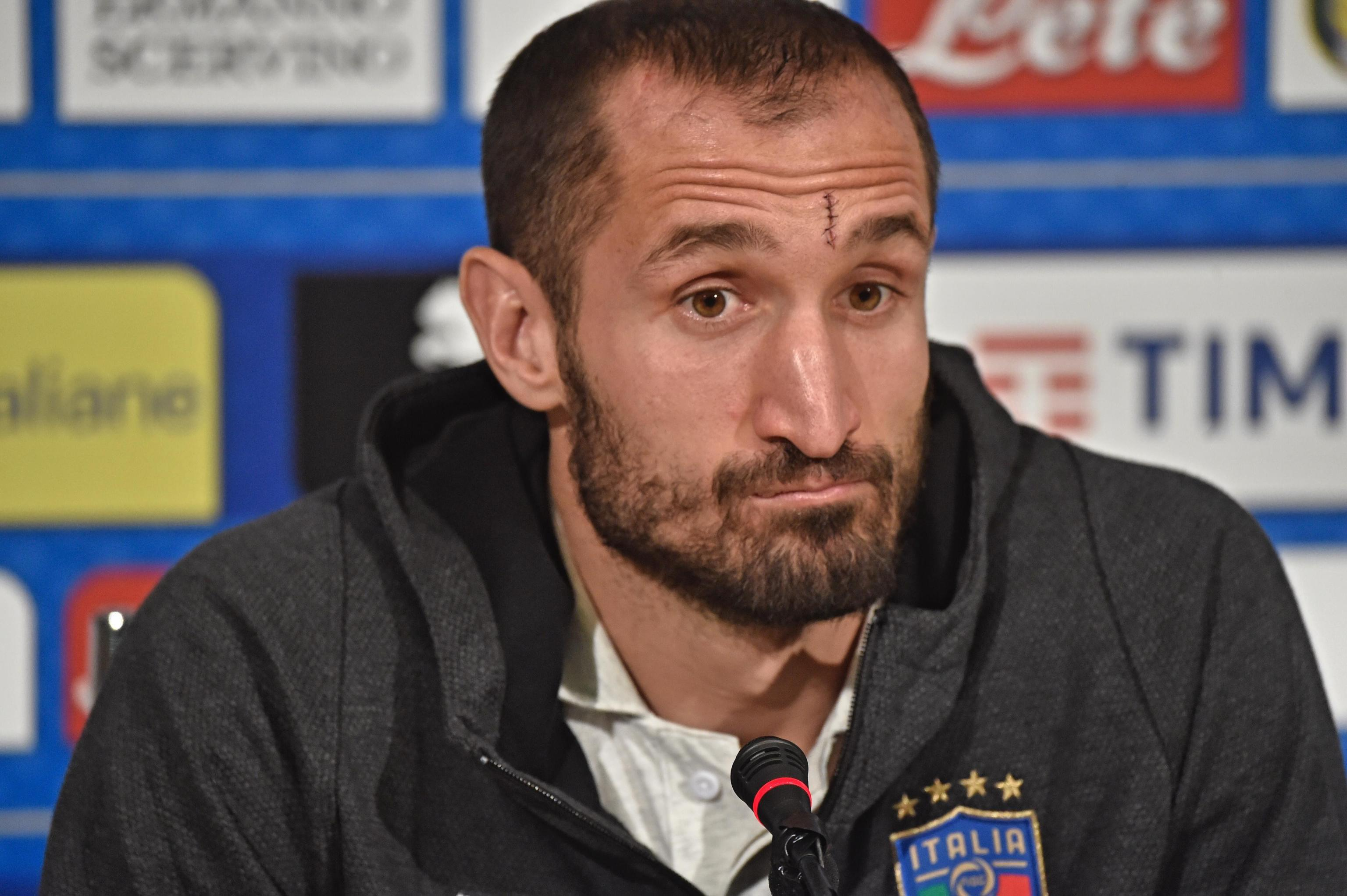 Chiellini – terrifying forwards since 2003