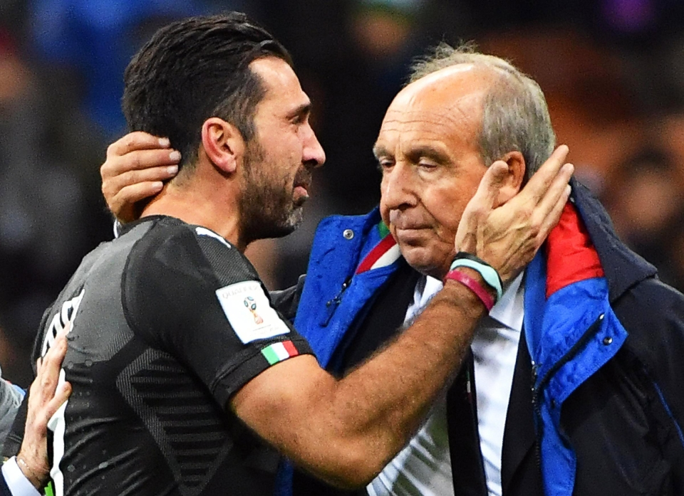 Ventura's short spell as Italy's manager will surely come to an end this week
