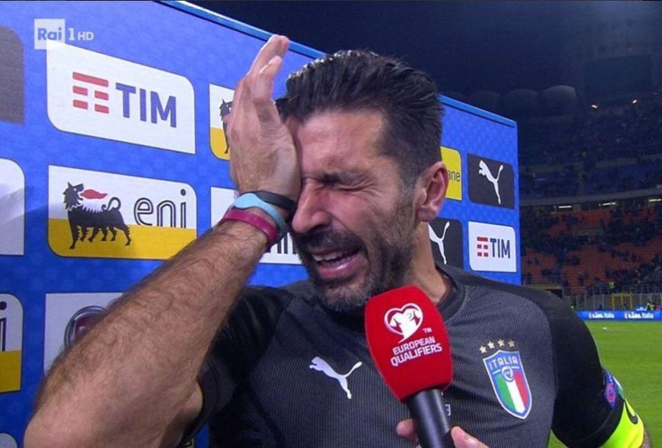 Buffon was hysterical in mid week