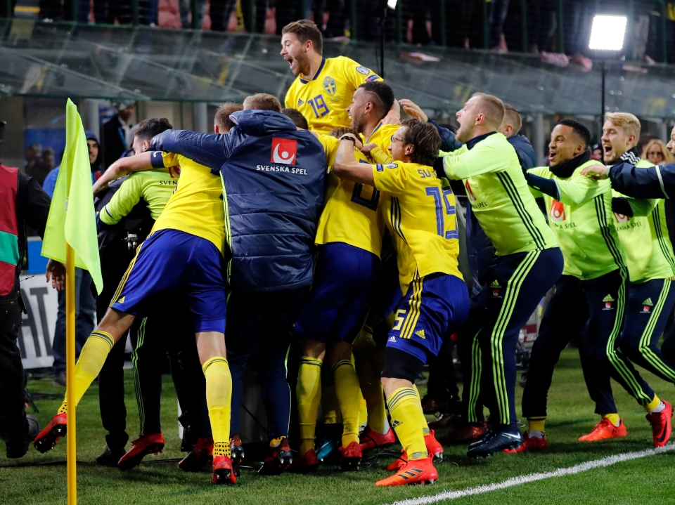 Some happy Swedes