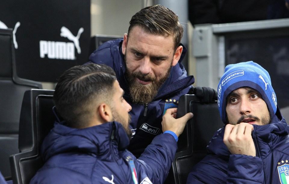 De Rossi criticised the coach's tactics