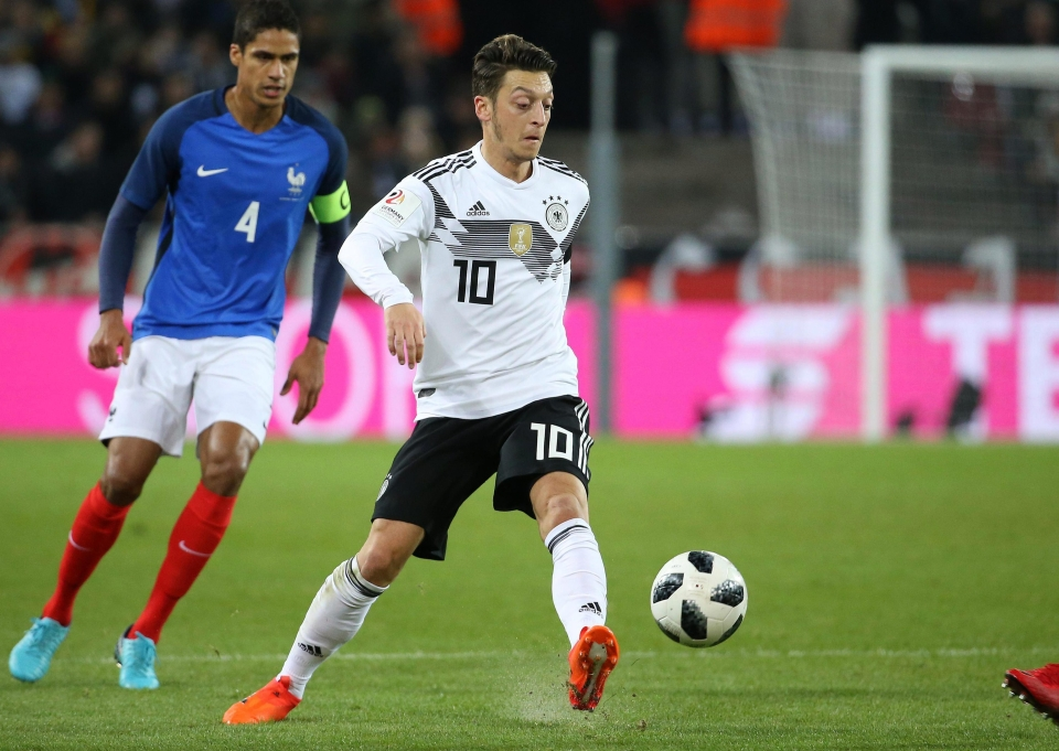 Ozil was viewed as Germany's best player for years