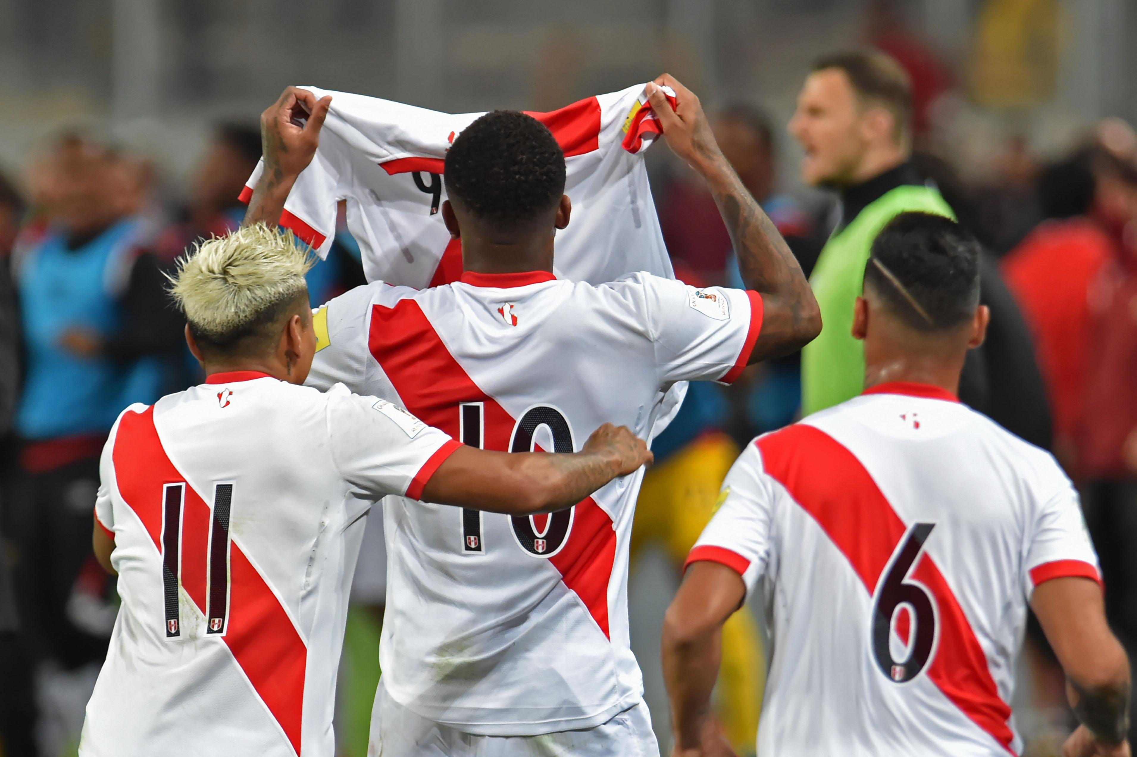 Peru were the better team on the night in all fairness