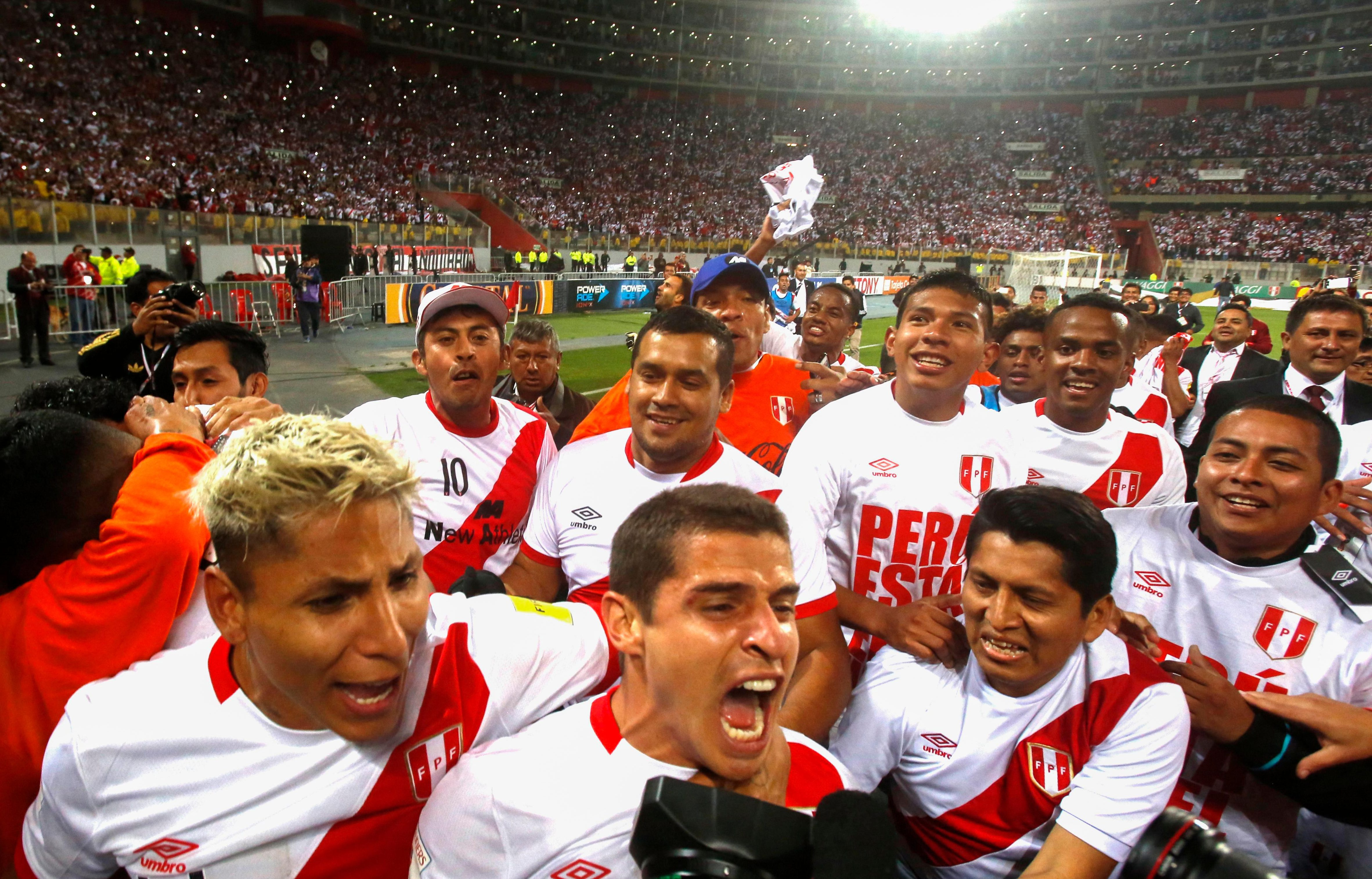 They'll be some sore heads in Peru this morning