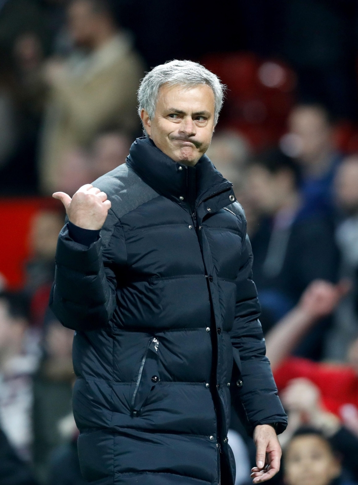 Mourinho's United have played second-fiddle to City so far this season