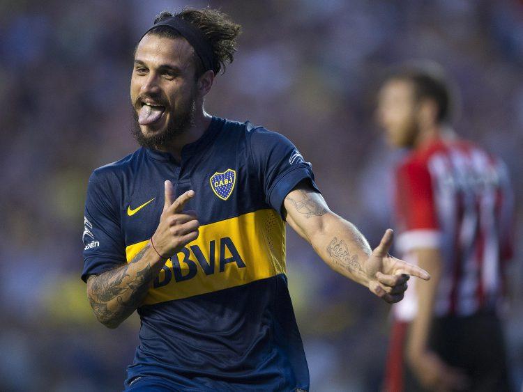 Osvaldo at Boca Juniors – minus the cigarettes