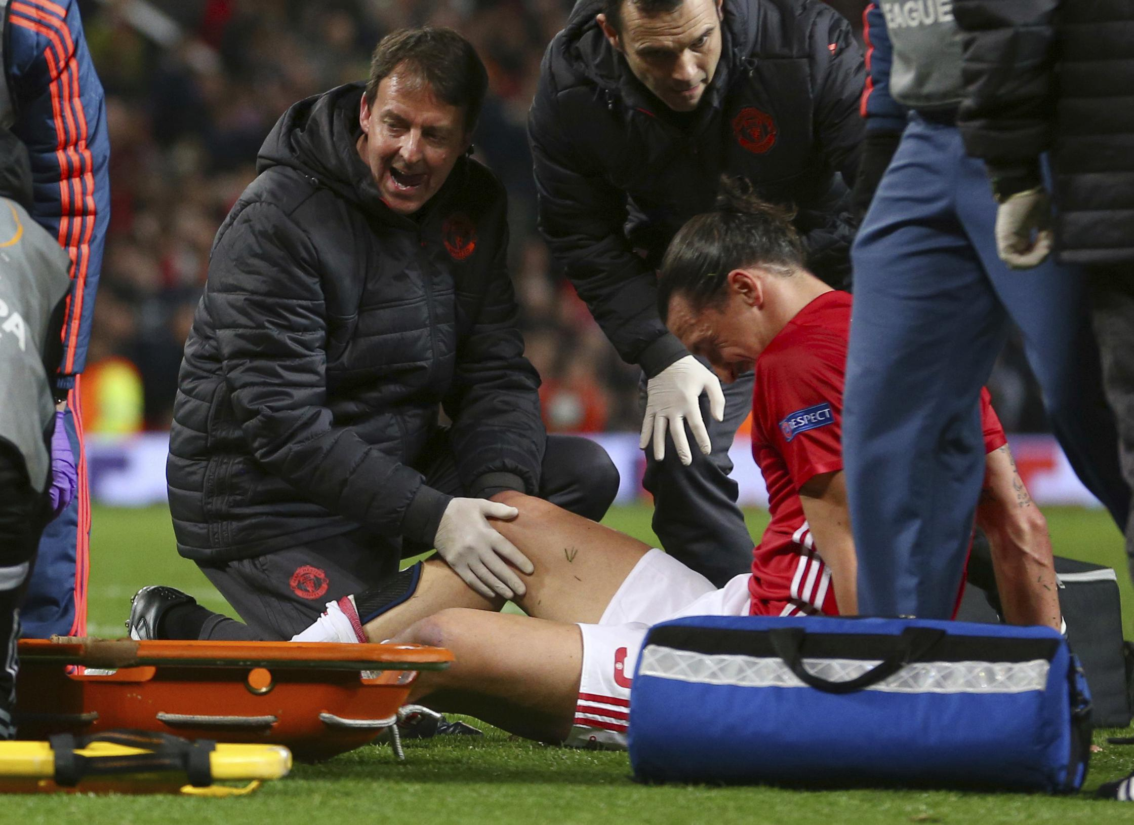 Ibra has been out since the end of last season