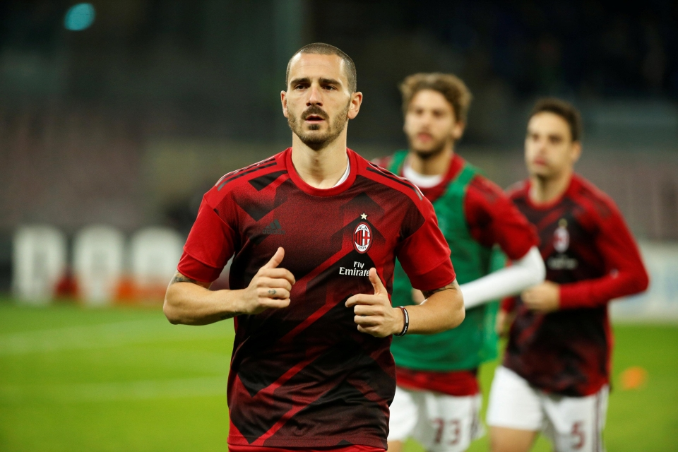 Bonucci joined from Juventus over the summer