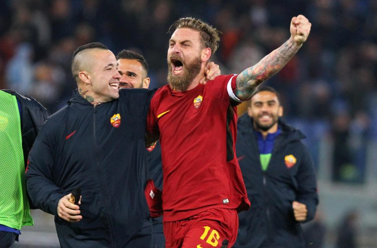 Even Nainggolan doesn't mess with De Rossi