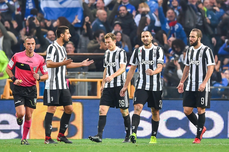 Juve were well beaten by Sampdoria