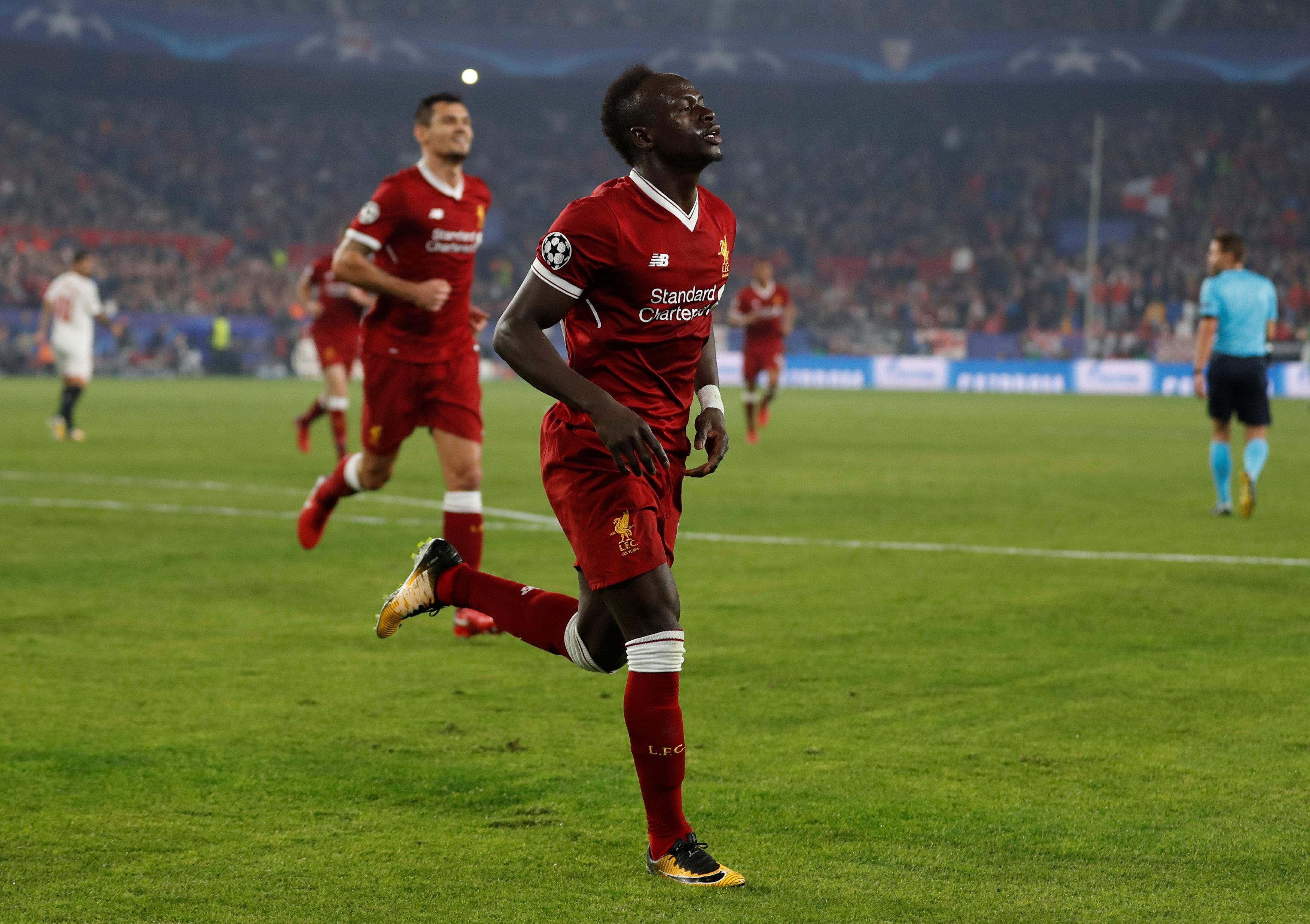 Mane scored the second