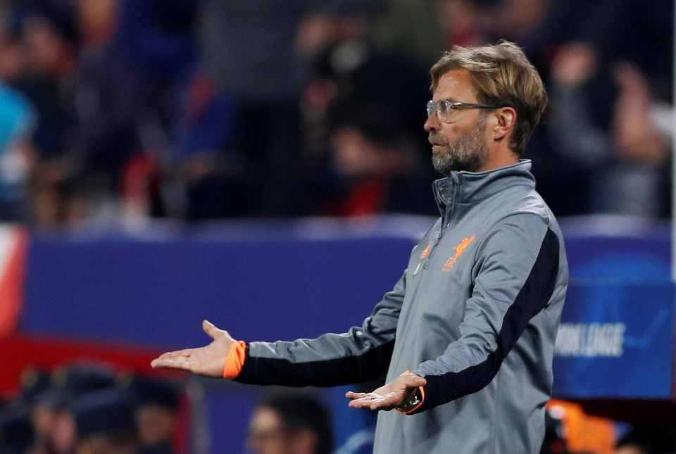 Klopp's record over the Winter months is appalling