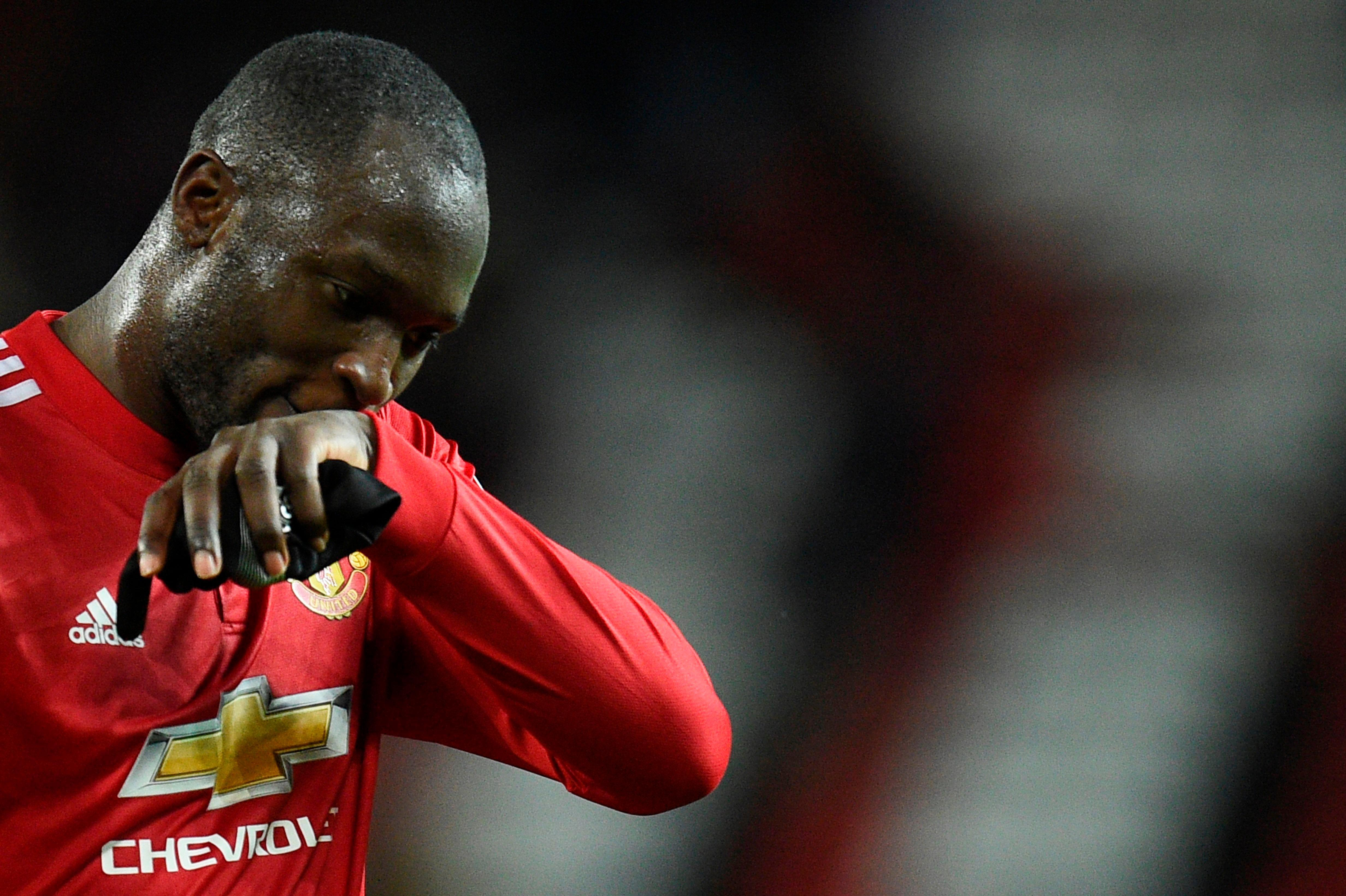 Romelu Lukaku is out of form with just one goal in his last ten appearances