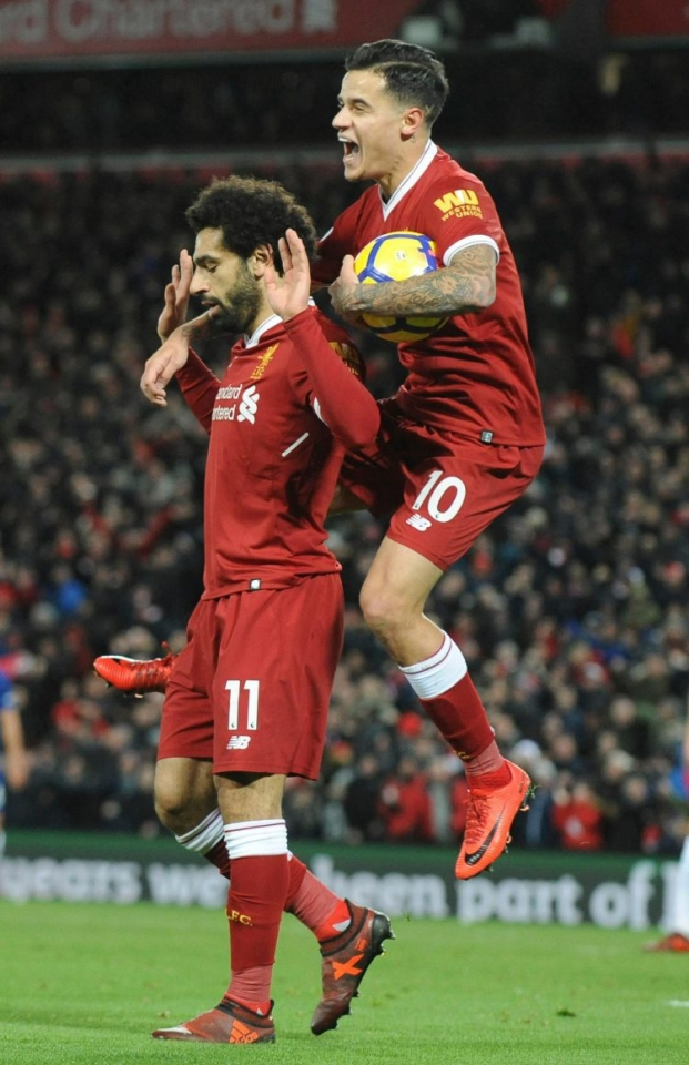 Coutinho was not on the same wavelength