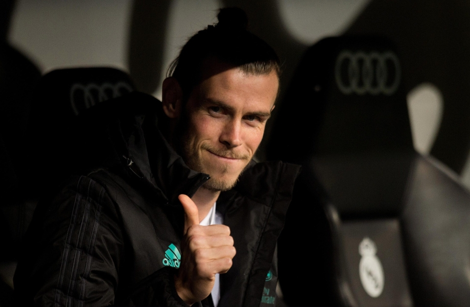 Bale started on the bench