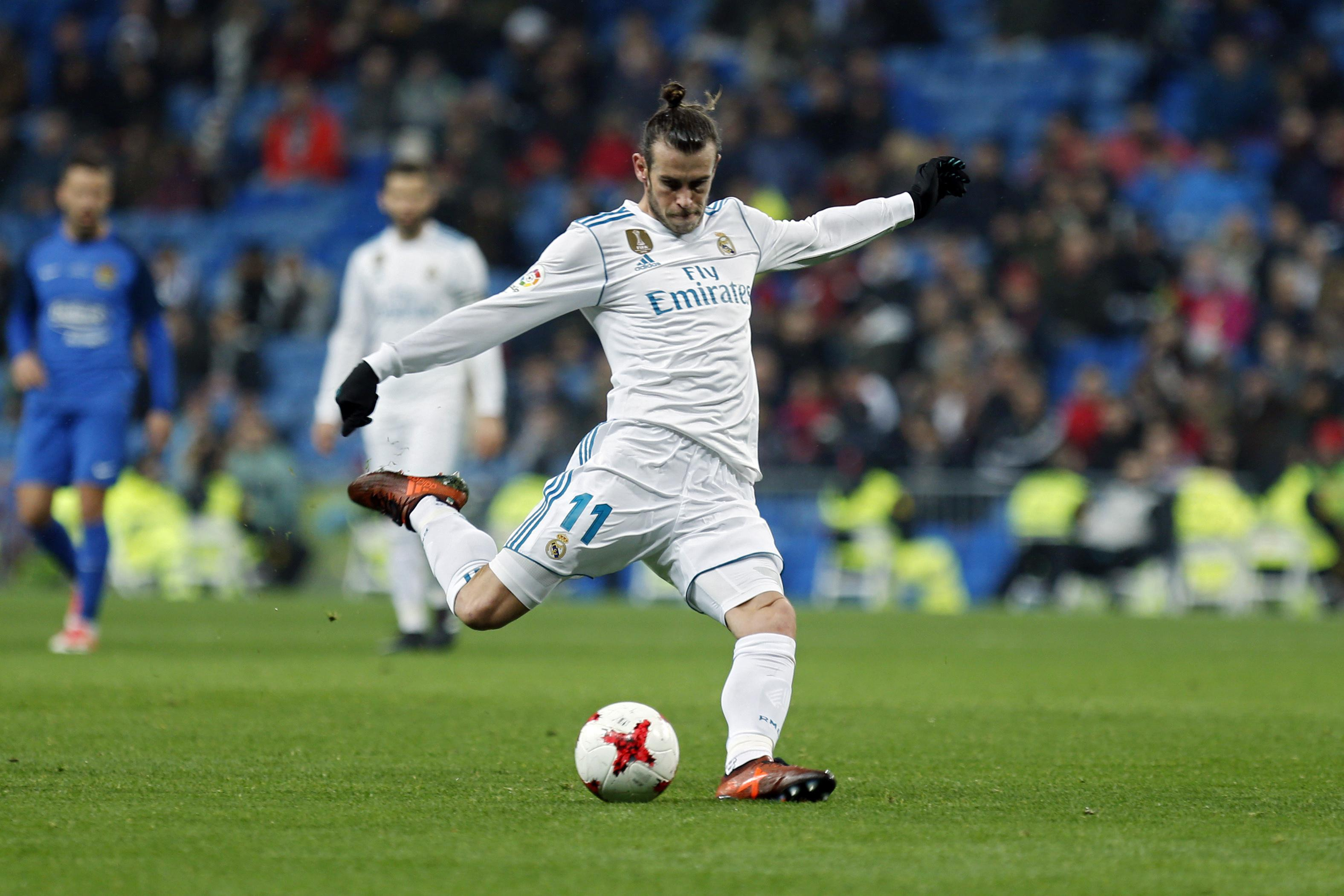 Bale played 30 minutes at the Bernabeu