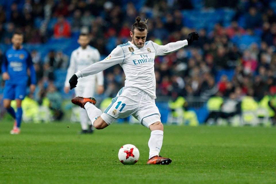 Bale played 30 minutes at the Bernabeu