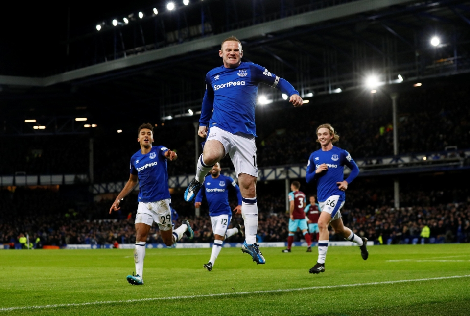 Rooney has scored seven in his last eight games