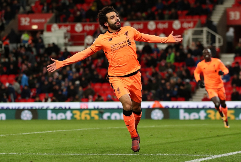 Salah scored his 11th and 12th goals of the season
