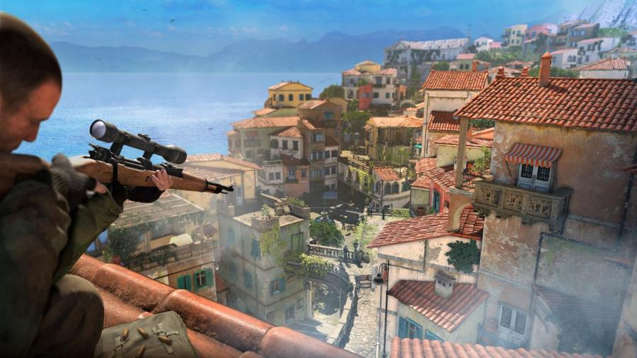 Sniper Elite 4 takes you around the world on a variety of fun missions – planning is essential