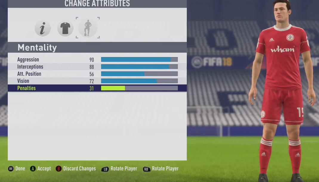 Put the sliders up to 99 for defensive attributes but keep other traits in the 70s and 80s