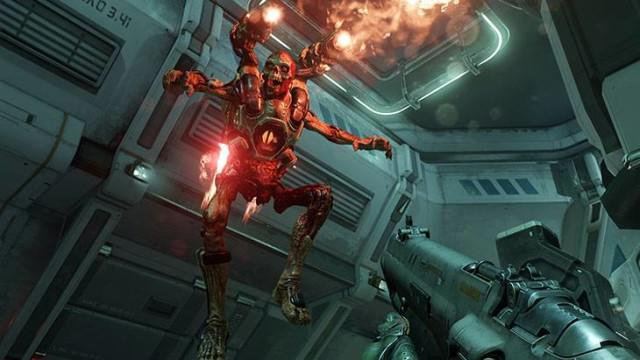 Doom's visuals will blow you away on the Switch – it's a credit to the iD Tech Engine