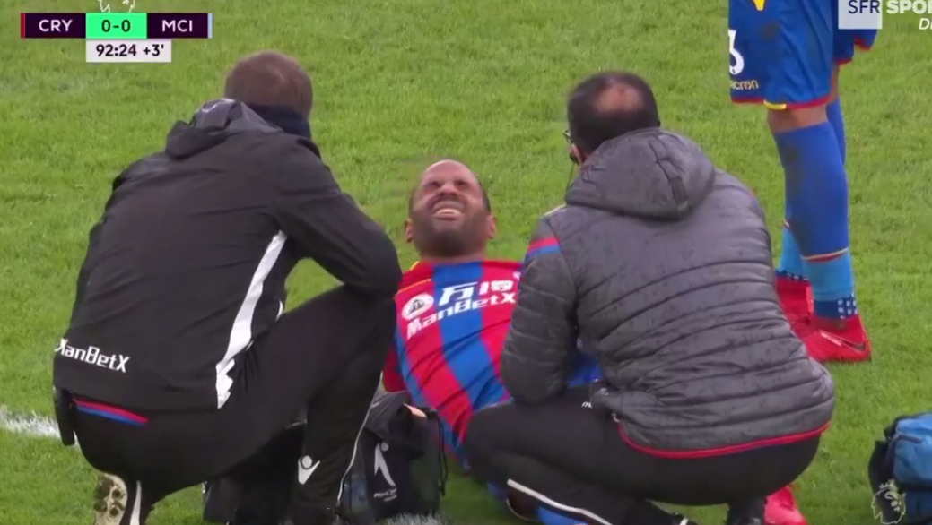 Puncheon hurt himself making the tackle