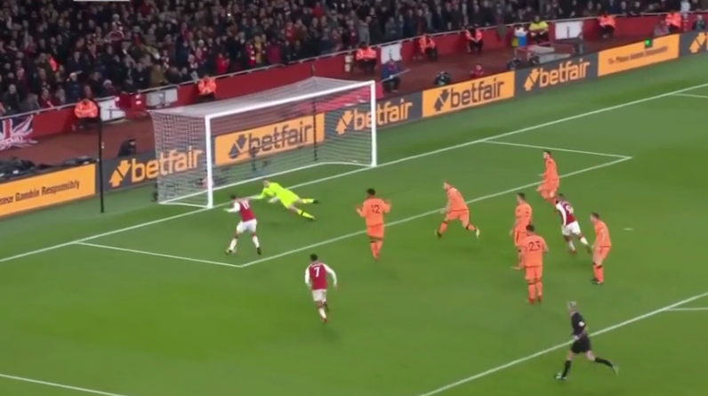 And Ozil makes it three