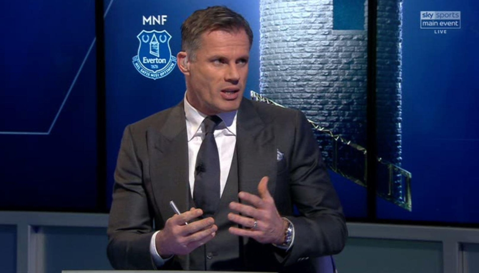 Carragher didn't hold back on Monday Night Football