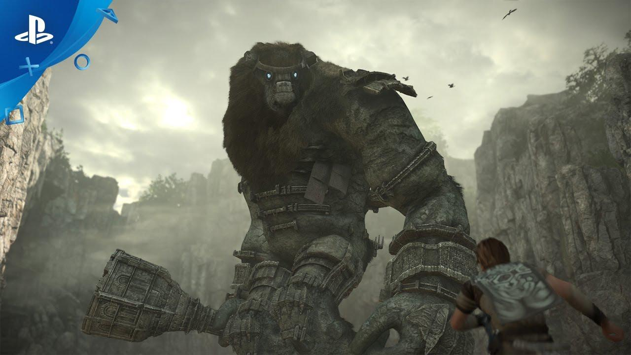 SOTC is one of the first 'colossal' games to land this year – arriving next month (February) exclusively on PlayStation
