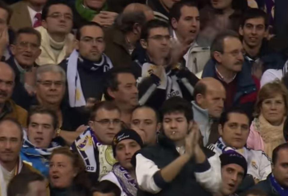 A rare sight in football